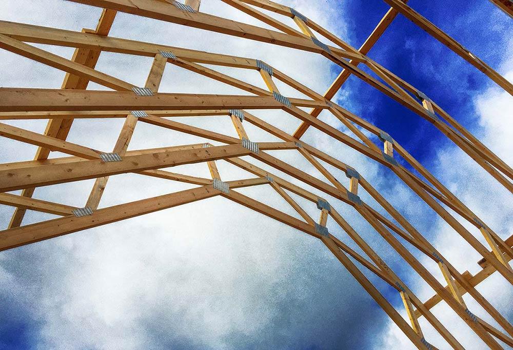 Masywnie Więźba dachowa - rodzaje i zastosowanie - GS02